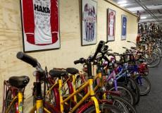 Diverse tweedehands fietsen