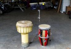 Bongo en Djembe set